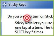 How to use Windows' Sticky Keys