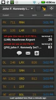 Mobiata's FlightBoard; click for full-size image.