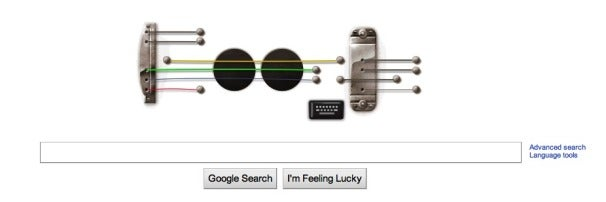 Les Paul Google Doodle Lets You Strum Guitar, Record,  Playback