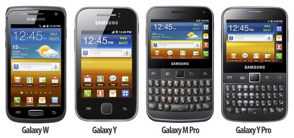 cellphone news: Samsung Launches 4 New Android Phones