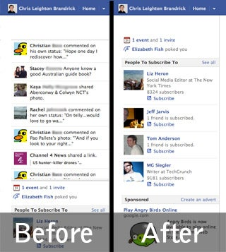 HOW TO : Remove Facebook News Ticker
