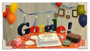 Happy Birthday Google Google-13-5220191