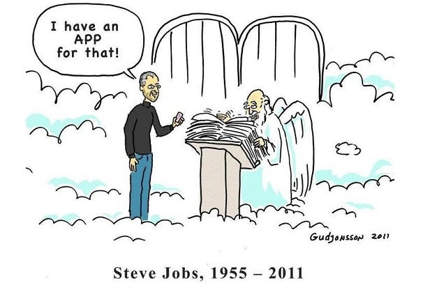 b16daa514aa Los fans de Apple crean creativos tributos sobre Steve Jobs ...