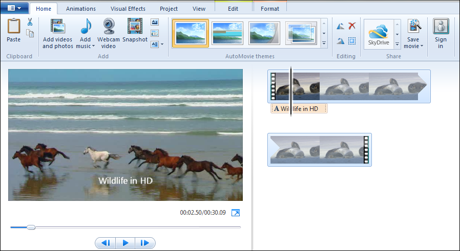 Windows Live Movie Maker Extra Effects Free Download