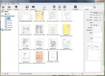 Paperless for Windows Organizes Scanned OCR Documents for Cheap