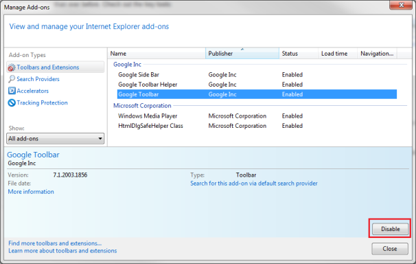 How to Remove Browser Toolbars in Internet Explorer