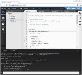 Cloud9 IDE Looks Polished, Feels Unfinished