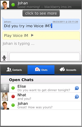 IMO Chat Instant Messenger