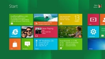 Windows 8 Metro-style interface