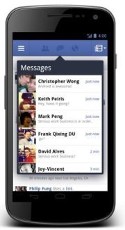 Facebook Releases Updated Android App