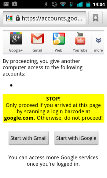 google-qrcode-login