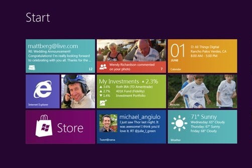 Windows 8 Consumer Preview 改进