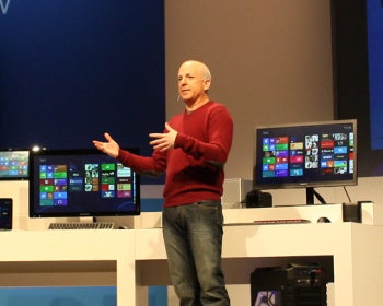 Sinofsky shows off Windows 8.