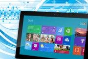 Microsoft Surface tablet with Metro interface