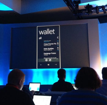 WP8 mobile wallet