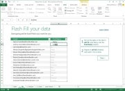 Excel's Flash Fill; click for full-size image.