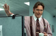 Gary Cole as Bill Lumbergh in the movie Office Space