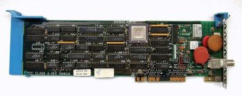 MCA NIC IBM 83X9648 16-bit expansion card