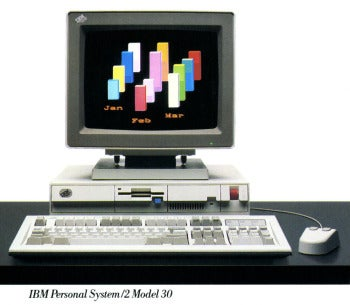 IBM PS/2 Model 30 ad