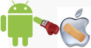 Android Overtakes iOS in App Downloads